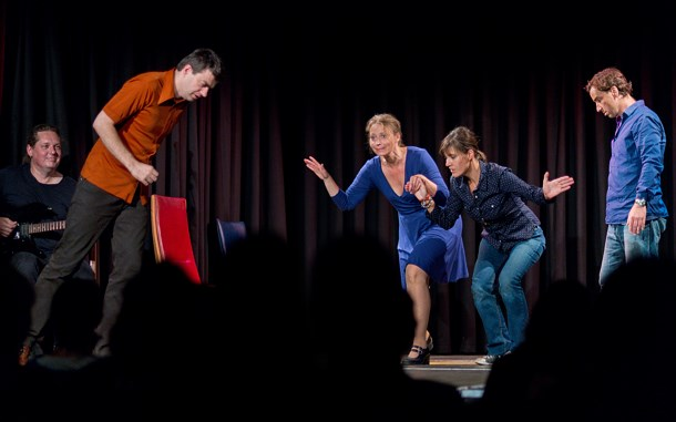 Theatersport - Theater im Bahnhof (Graz) vs. English Lovers (Wien)