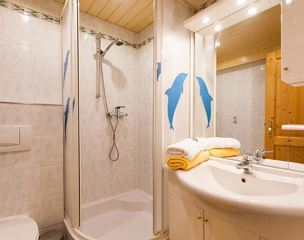 Holiday home, shower, toilet, 1 bed room
