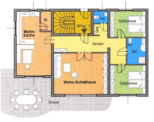VILLA: Apartment 1