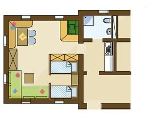 Appartement Berge