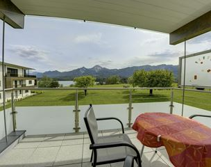 Appartement Suite m. Seeblick - Type B1- Terrasse