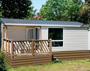 Mobile home, shower, toilet, 2 bed rooms
